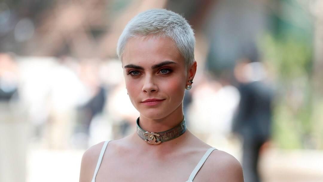 Cara Delevingne Shaved Head