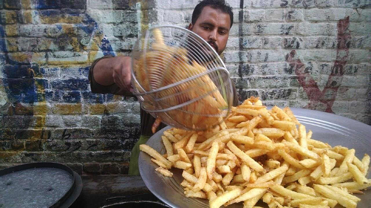 French Fries in Pakistan
