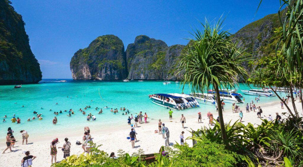 Maya Bay Phi Phi Best Beach In The World scaled