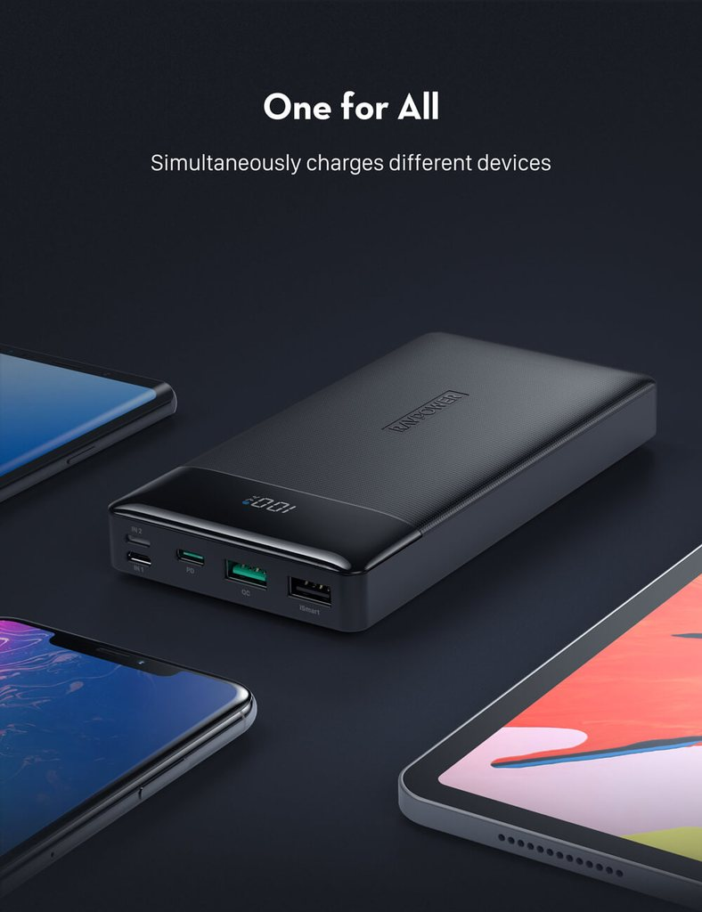 RAVPower Portable Charger 20000mAh PD