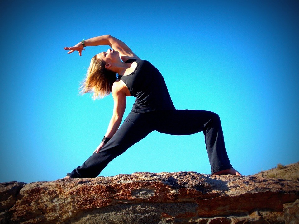 warrior pose one will help you lose weight